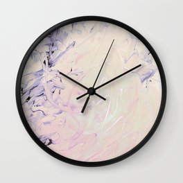 Frogs and Sharks She Tamed Wall Clock