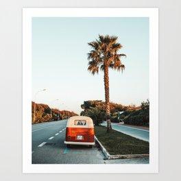 Summer Road Trip Art Print
