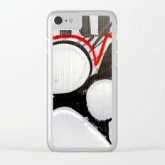 City Lovers under the Red Line Clear iPhone Case