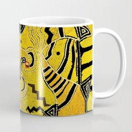 Map     n°7  Dot paintinng Coffee Mug