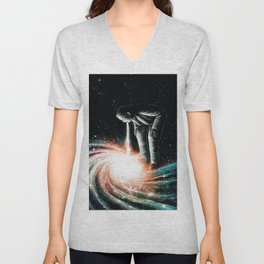Cosmic Vomit Unisex V-Neck