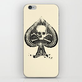 Life or Death Denim Supply iPhone Skin