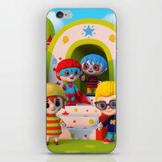 Turtle Boy's Gang iPhone & iPod Skin