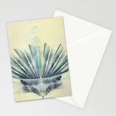 The Feathered Tribe Abstract / II Stationery Cards