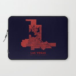 Las Vegas Map Laptop Sleeve
