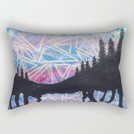 Attract Sunset Rectangular Pillow