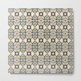 Mosaic marbled art deco II Metal Print