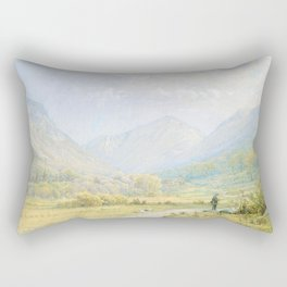 Franconia Notch, New Hampshire Rectangular Pillow