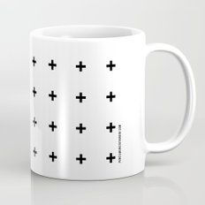 Black Plus on White /// www.pencilmeinstationery.com Mug