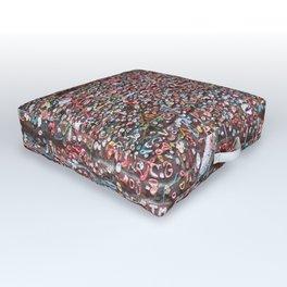 Gum Art Outdoor Floor Cushion
