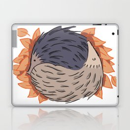 Hedgehog Yin Yang Laptop & iPad Skin