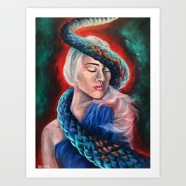 """Lilith"" Painting Art Print"
