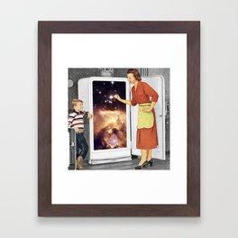 Stars for Breakfast Framed Art Print