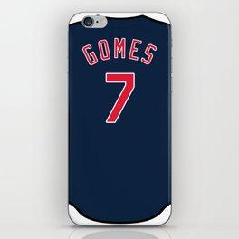 Yan Gomes Jersey iPhone Skin
