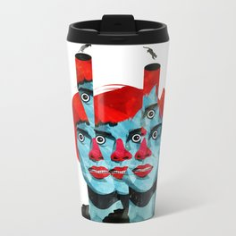 The cats in my head Metal Travel Mug