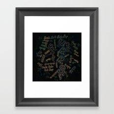 UBRS Framed Art Print