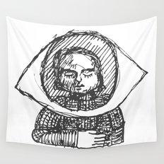 Eye, My Hart Wall Tapestry
