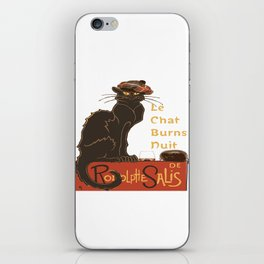Le Chat  Burns Nuit With Haggis and Dram iPhone Skin