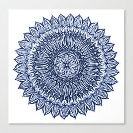 Sinful-Navy Canvas Print