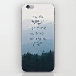 Forest and Soul iPhone Skin