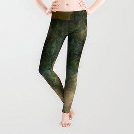 """""""The Inner Forest (caramel pattern)"""" Leggings"""