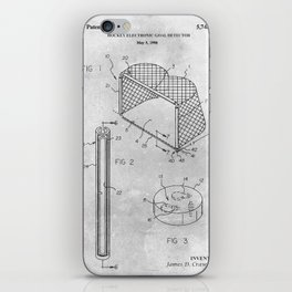 Hockey goal detector iPhone Skin
