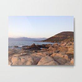 Sunrise in Corsica Metal Print
