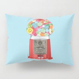 happy pills blue Pillow Sham