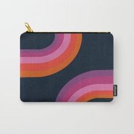 Hip - retro minimal 70s style throwback vibes 1970's art minimalist decor Carry-All Pouch