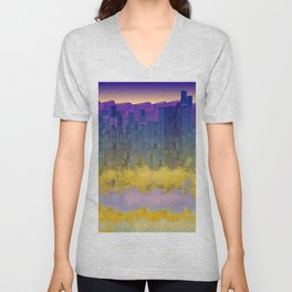 Urban 05-07-16 / WAVES of LIGHT Unisex V-Neck