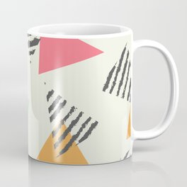 Geometric Mint Pattern Design 015 Coffee Mug