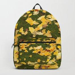 Ginkgo biloba leaves Backpack