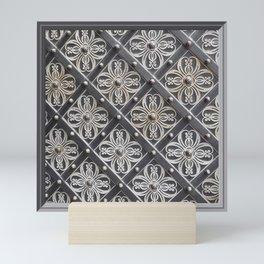 Metallic And Decorative - Grey Monochrome #decor #society6 #buyart Mini Art Print