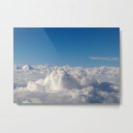 Sea of Clouds Metal Print