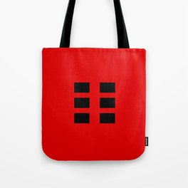 I Ching Yi jing - symbol of kun 坤 Tote Bag