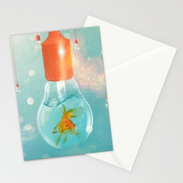 Ideas and Goldfish ... Stationery Cards