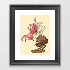 Viva la Cream - Redux Framed Art Print