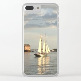 Leaving Harbor Clear iPhone Case
