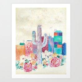 Tucson Dreams Art Print