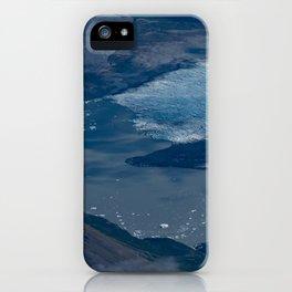 Aerial Glacier - Alaska iPhone Case