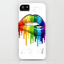 I Licked It So It Mine T-shirt LGBT Gay Homosexual Lesbian iPhone Case