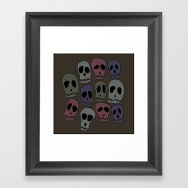 Skulls-2 Framed Art Print