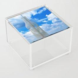 Pops in Blue Sky Acrylic Box