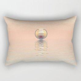 Alien Spacecraft Rectangular Pillow