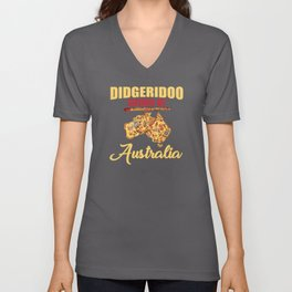 Didgeridoo Sound Of Australia Gift Unisex V-Neck
