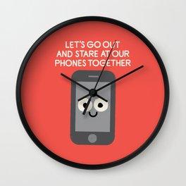 Emojionally Available Wall Clock