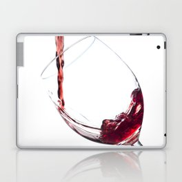 Elegant Red Wine Photo Laptop & iPad Skin