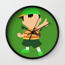 Ness(Smash)Green Wall Clock