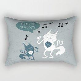 Time to dance Rectangular Pillow