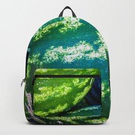 Green Watermelon Fruits Backpack
